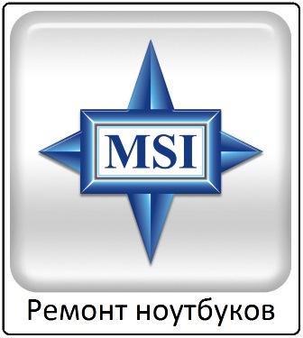 Ремонт ноутбуков MSI в Тамбове
